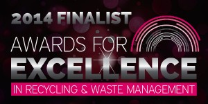 Awards for Excellence in Recycling and Waste Finalist 2014 Logo