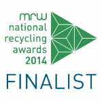 MRW National Recycling Awards 2014 Finalist Logo
