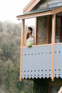 Wedding at the Old Station, Tintern