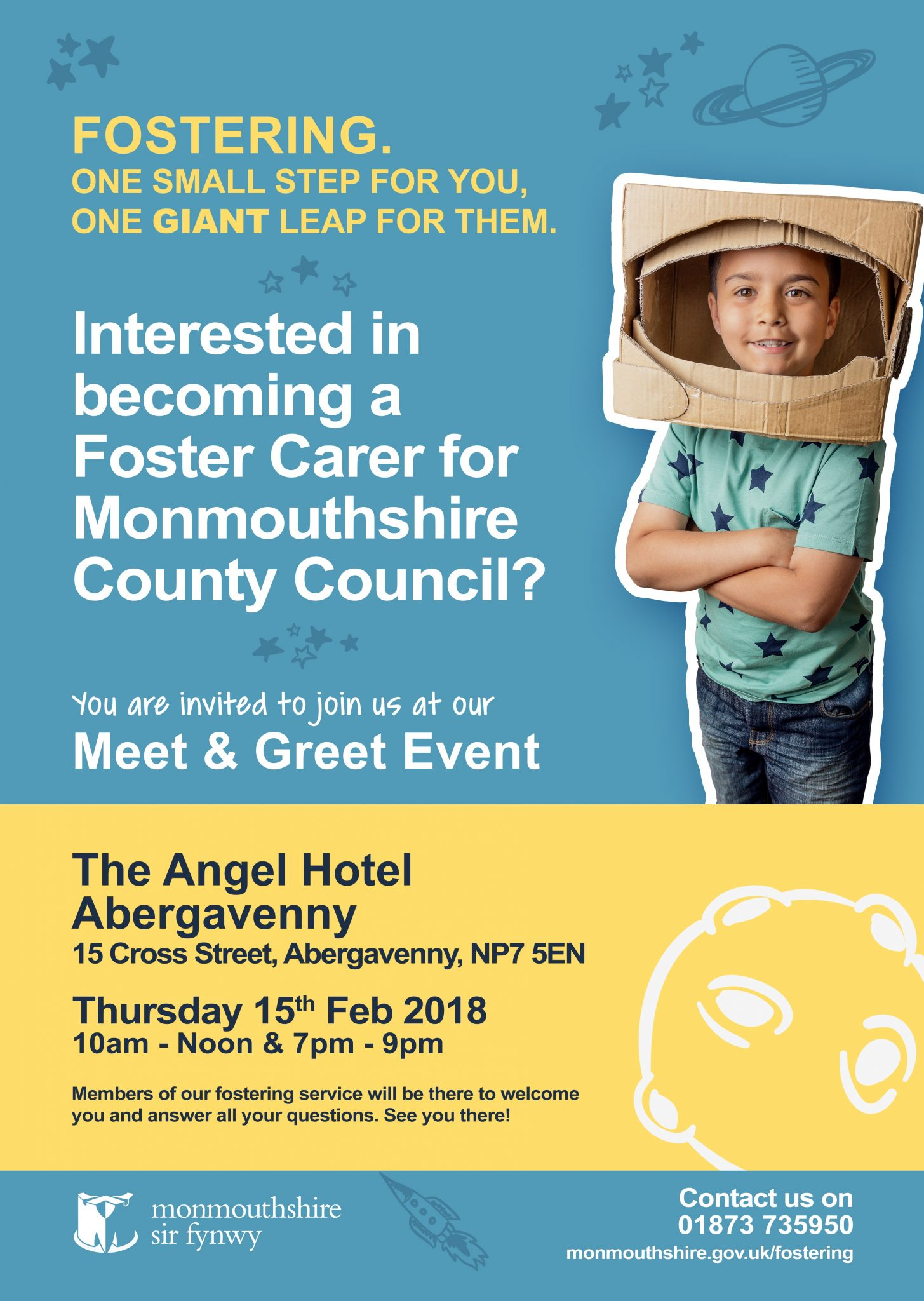 Meet Greet Poster Eng Monmouthshire