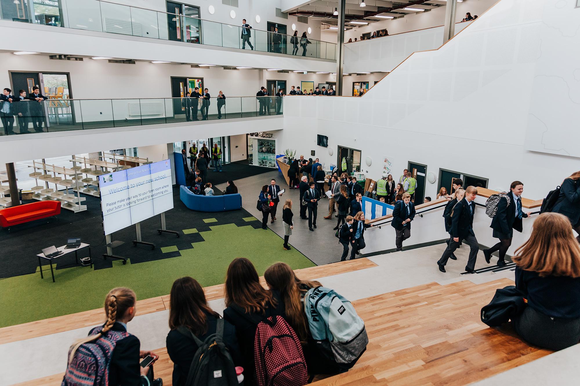 Monmouth Comprehensive Opens Its 21st Century School Doors