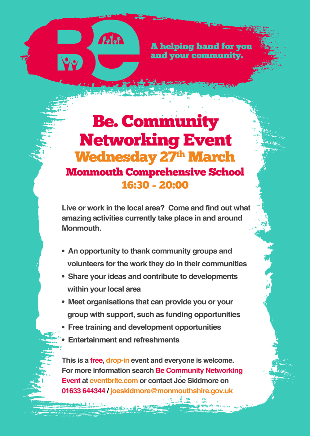 Event To Offer Support To Monmouth Area Volunteers And Community