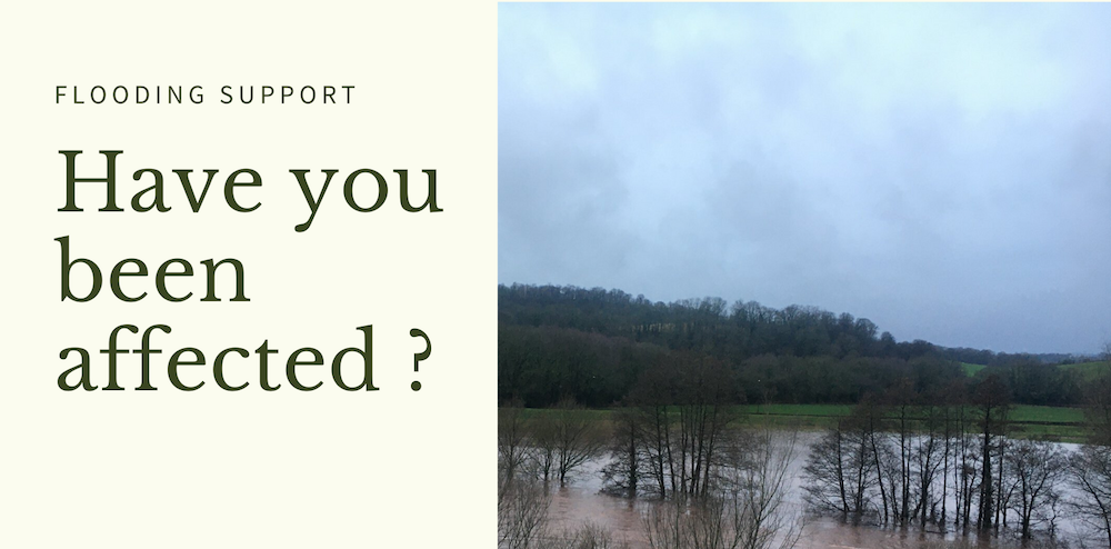 Flooding Support - have you been affected ?