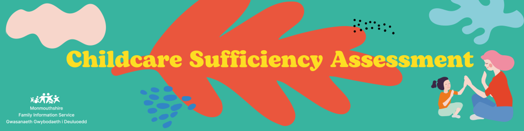 childcare sufficiency assessment coloured banner